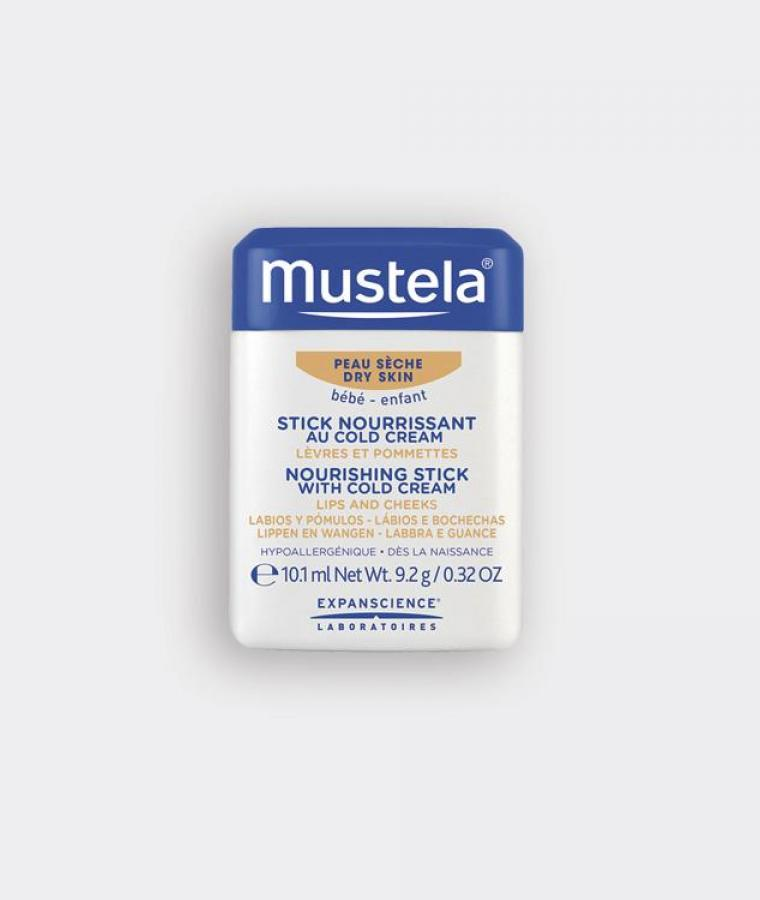 Mustela Nourishing stick with cold cream for babies with dry skin